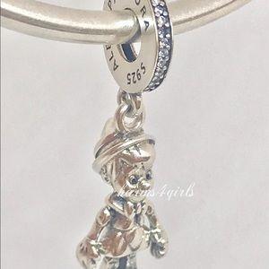 Authentic Pandora Disney Pinocchio dangle charm